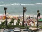Местный пляж / лягушатник за каменным волнорезом