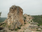 Остатки внутренних стен крепости Монфорт