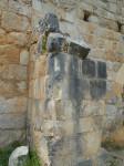 Сохранившиеся участки стен крепости Монфорт