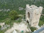 Не плохо сохранившаяся башня северо-западной части
