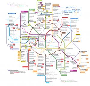плановая схема метро до 2020 года